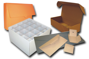 Boxes and envelopes